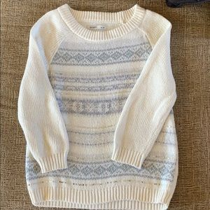 Like new, old navy winter sweater